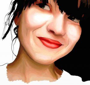 Екранна снимка на Лусия Дейнс
