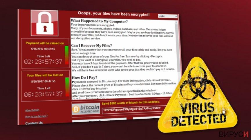 WannaCry е жив. Хиляди потребители са в опасност