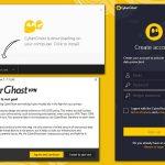 Екранна снимка на CyberGhost