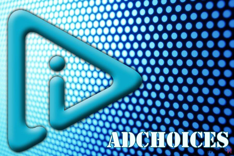 Екранна снимка на AdChoices