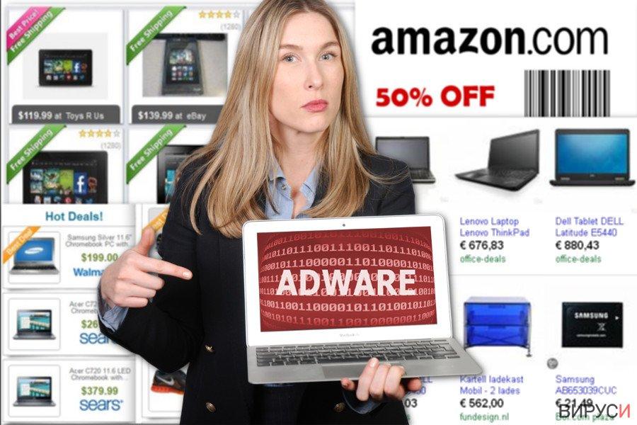 Изображение на рекламите на NewTab
