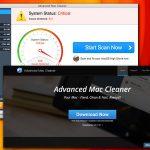 Екранна снимка на Вирусът Advanced Mac Cleaner