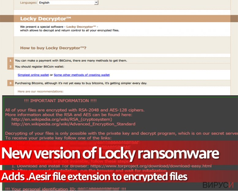 .Aesir ransomware virus