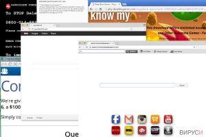 Пренасочващ вирус Browser