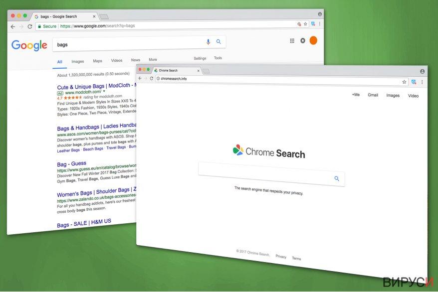 Изображение на Chromesearch.info