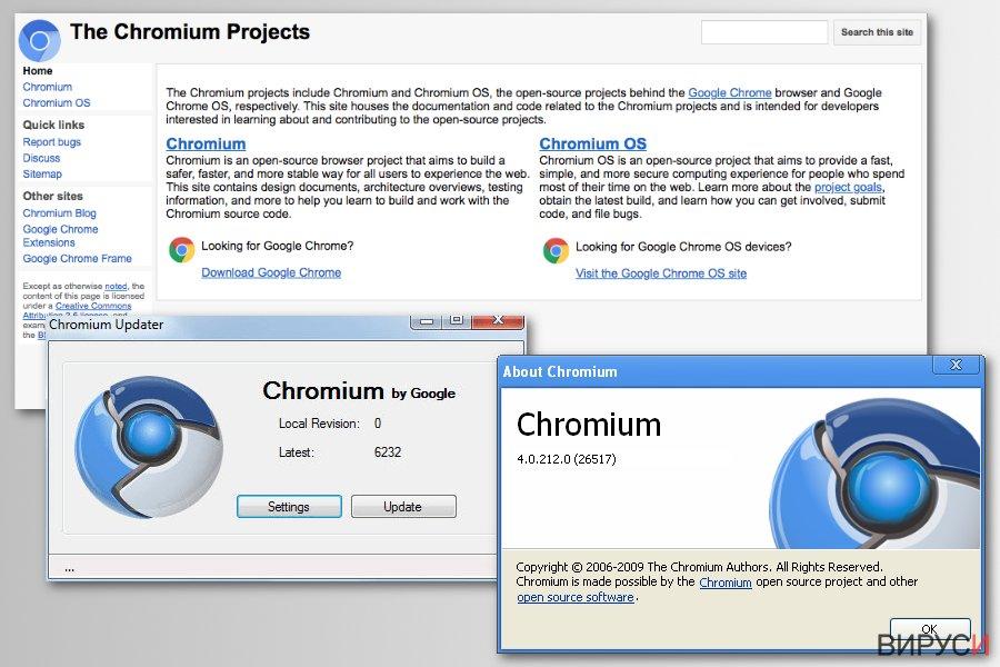 Проекта Chromium