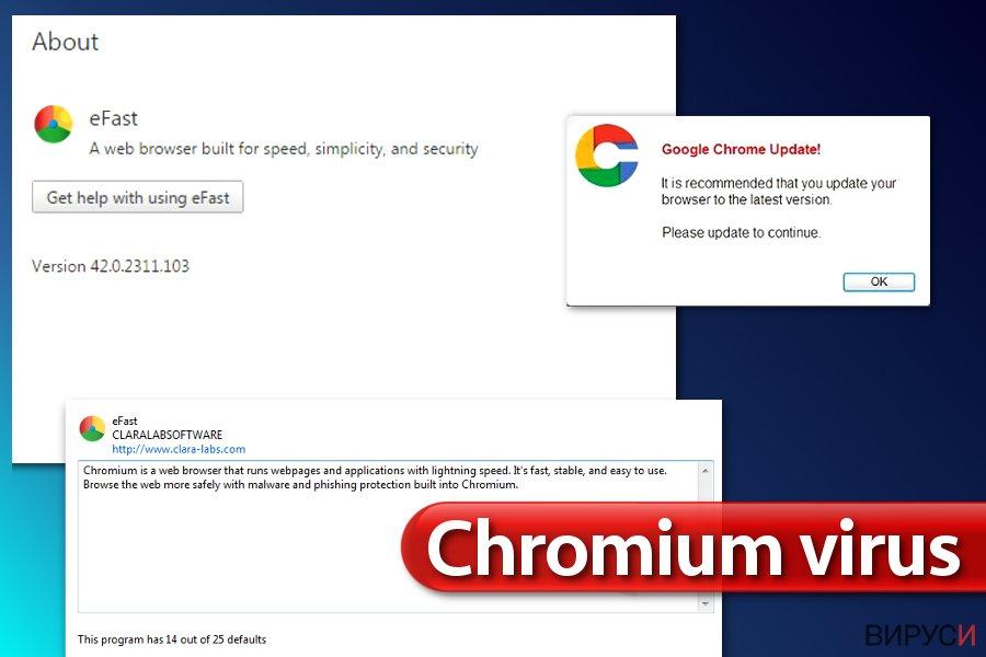 Вирусът Chromium