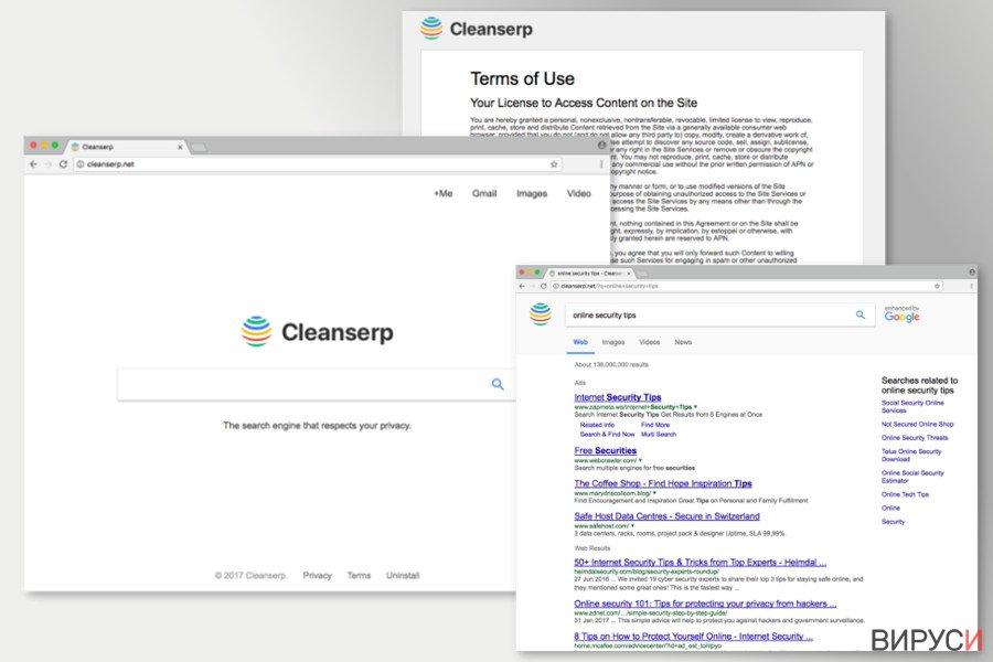 Изображение на Cleanserp.net