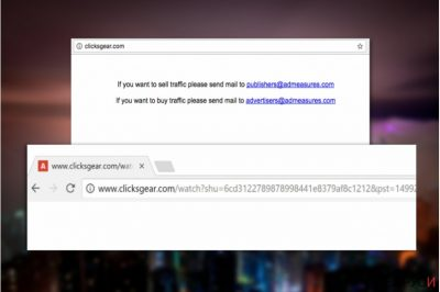 Вирусът Clicksgear.com