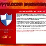 Екранна снимка на CryptoLocker