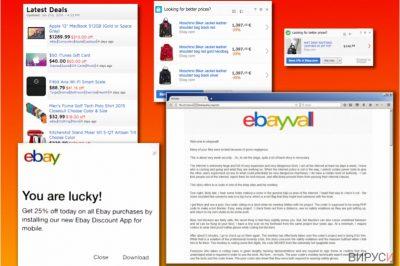 Разновидности на eBay вируса