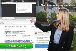 Вирусът Ecosia.org