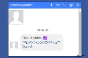 Facebook видео вирус