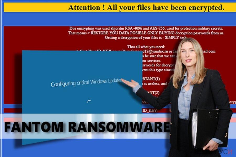 Fantom ransomware virus
