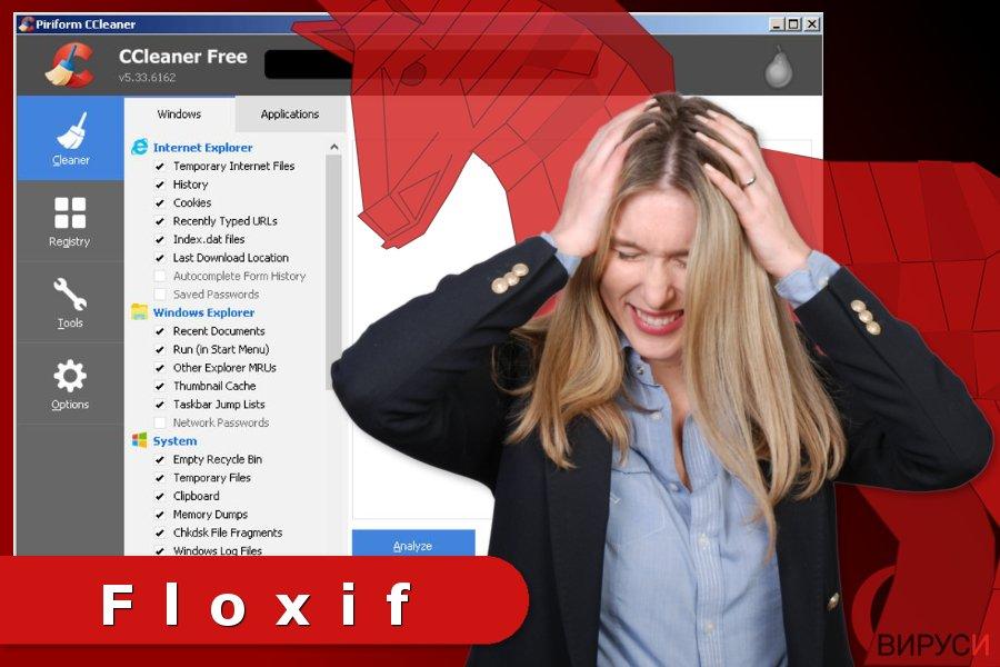 Изображение на вируса Floxif