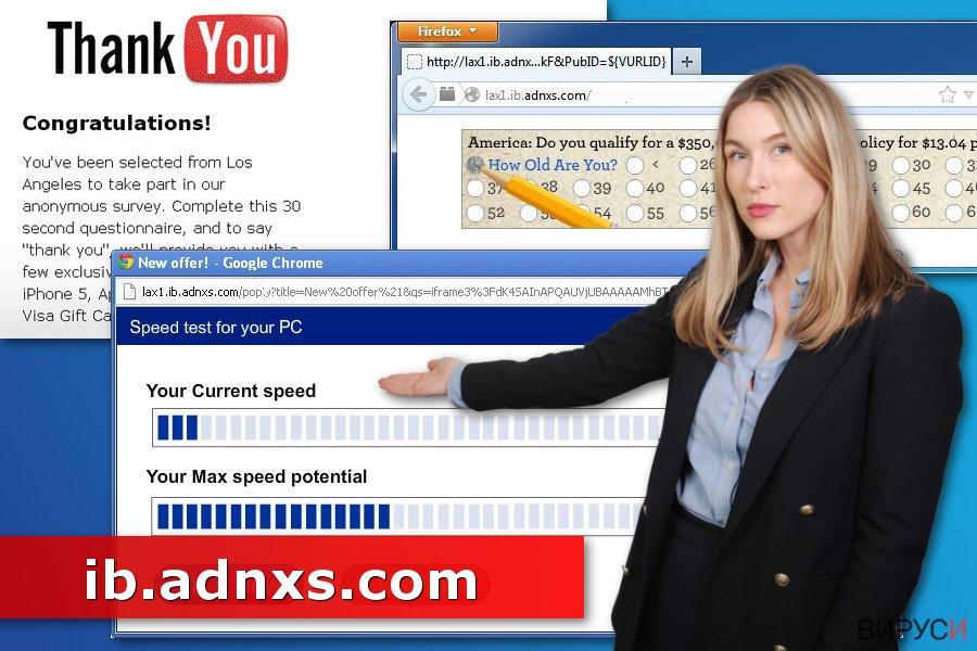 Изображение на вируса Ib.adnxs