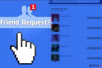 Facebook Friend Request virus