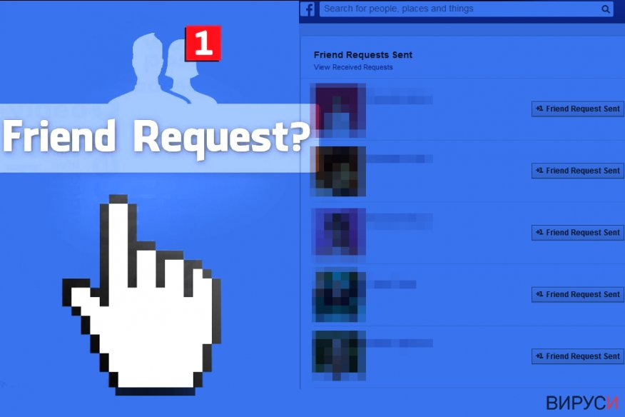 Facebook Friend Request virus