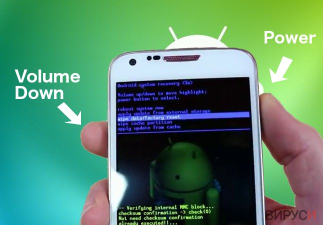 рансъмуер вирус за Android