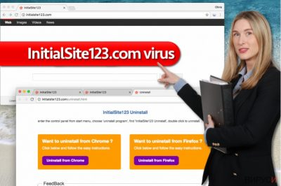 Вирусът InitialSite123.com