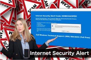 """Вирусът """"Internet Security Alert"""""""