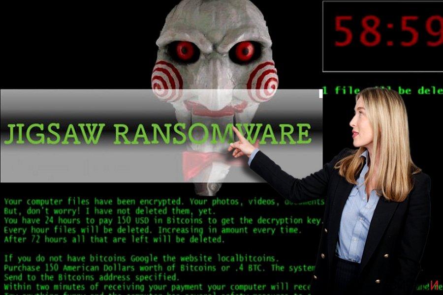 Рансъмуерният вирус Jigsaw