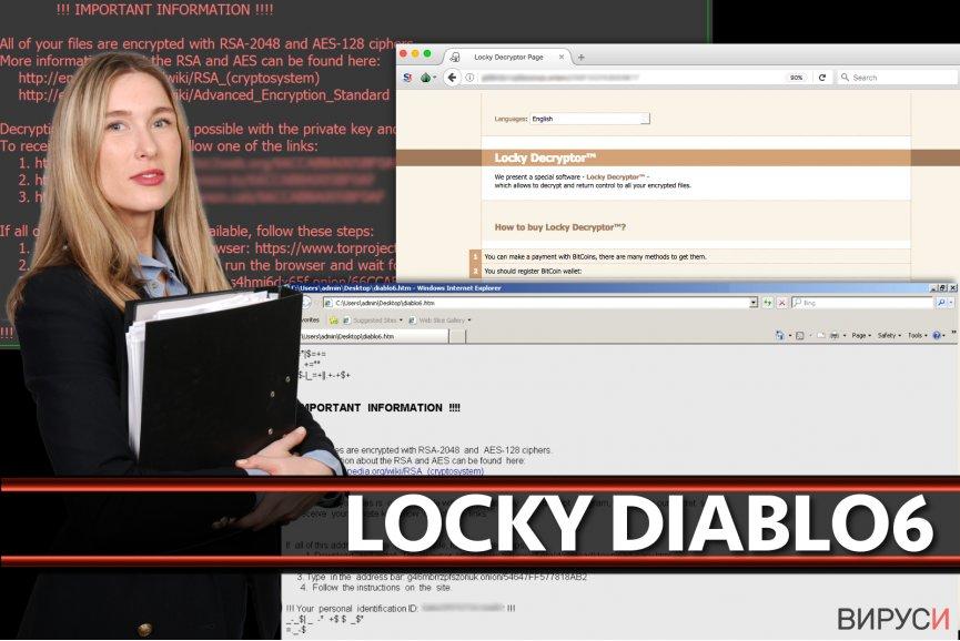 Вирусът Locky Diablo6