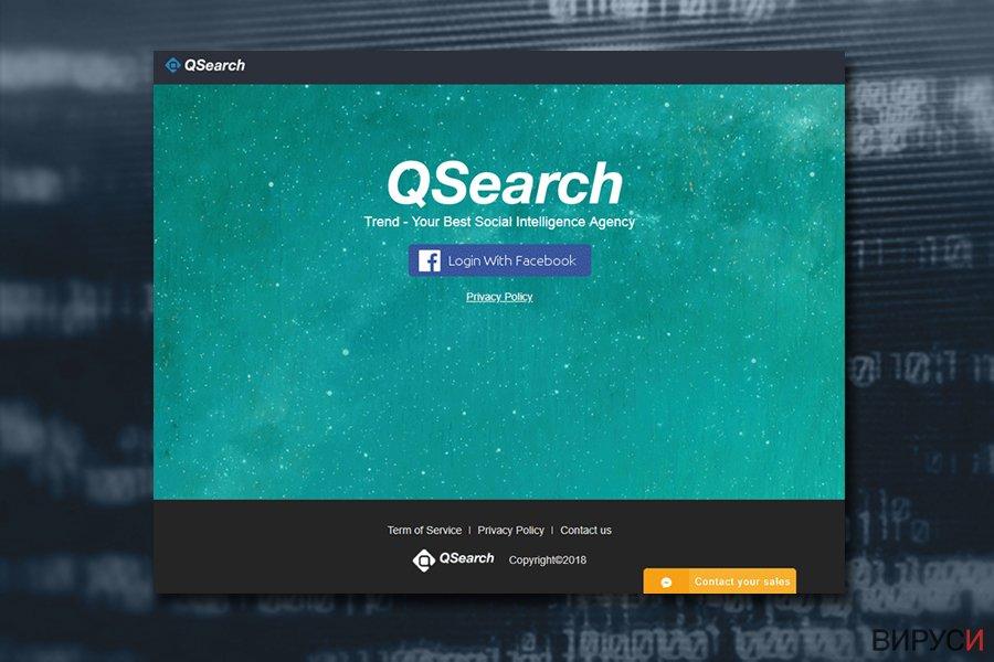 Mac вирусът QSearch