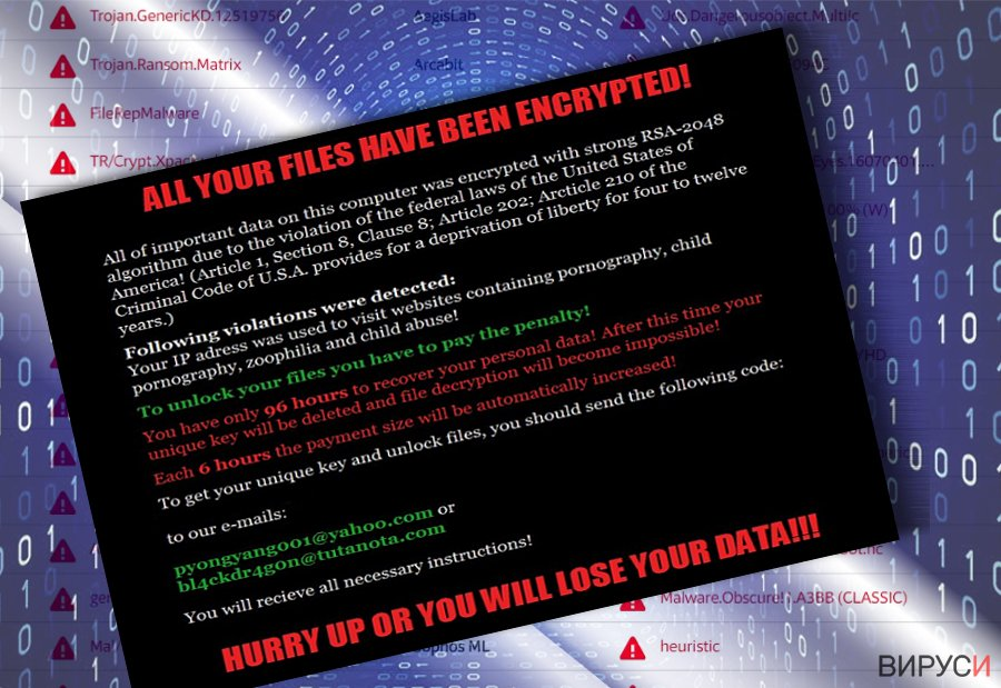 Рансъмуер вирусът Matrix