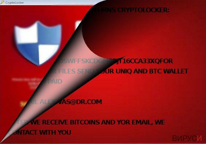 Is MNS Cryptolocker related to CryptoLocker?