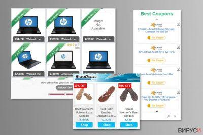 Пример за рекламите на MyCouponize