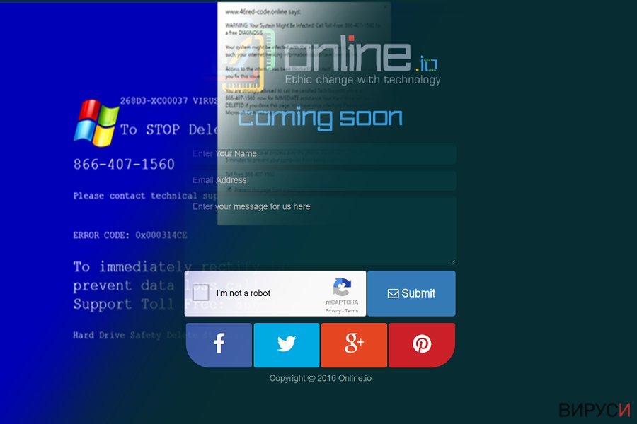 Вирусът Online.io
