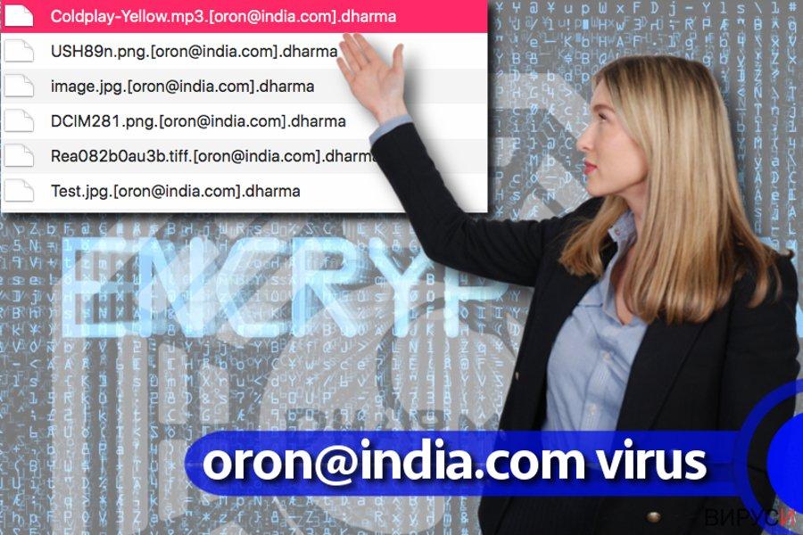вирусът oron@india.com