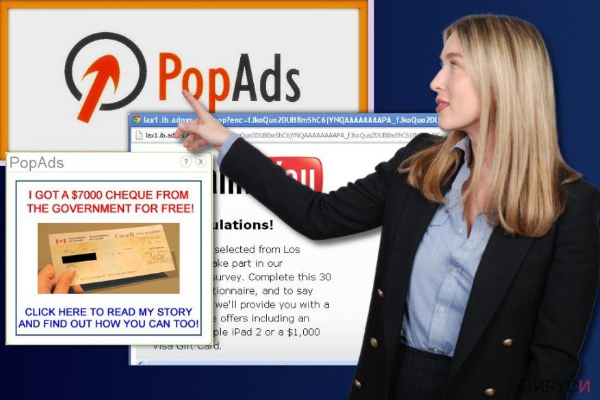 Рекламите на PopAds