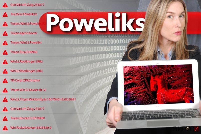 Вирусът Poweliks