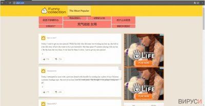 Пример за Qtipr.com