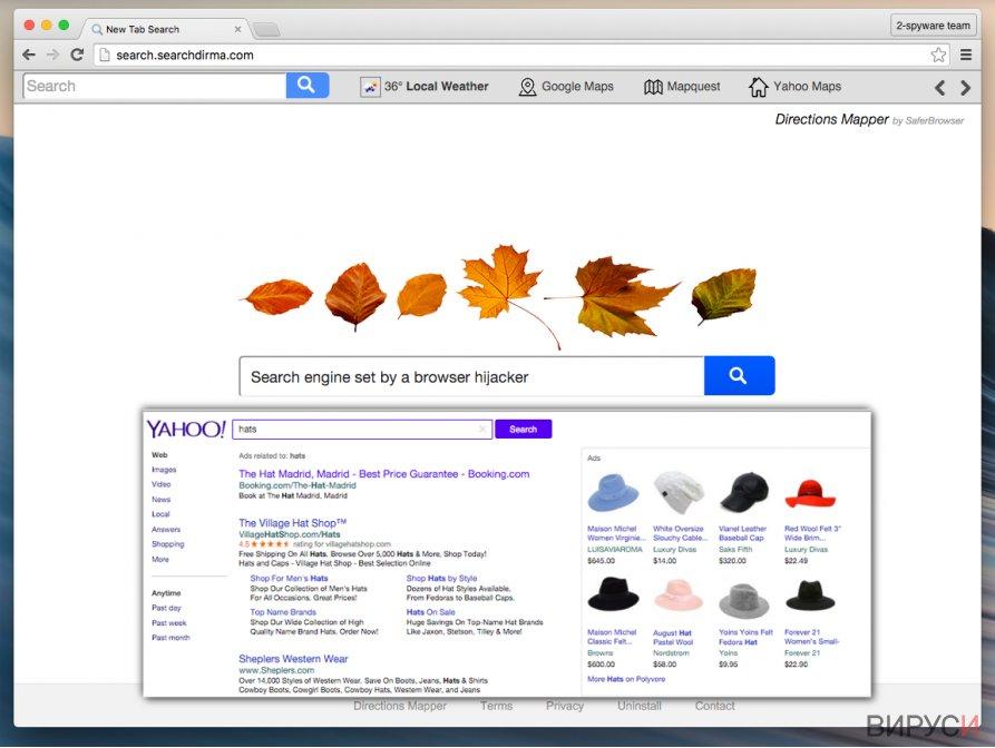 Екранна снимка на