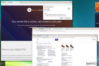 Пренасочващият вирус Search.securysearch.com