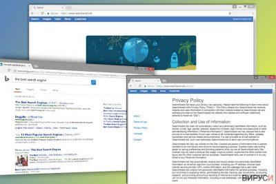 Изображение на браузър-похитителя SearchAssist.net