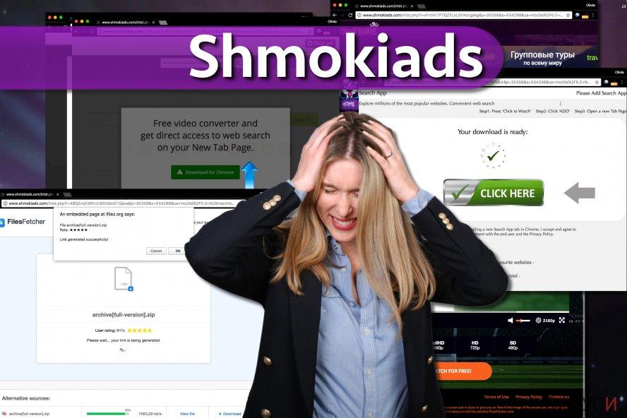 Зловредният софтуер Shmokiads