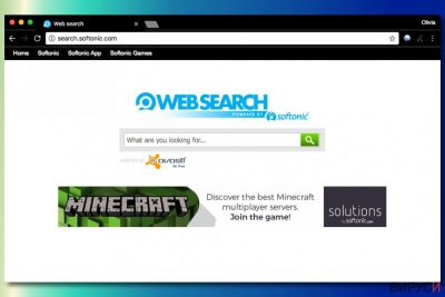 Търсаката Softonic Web Search