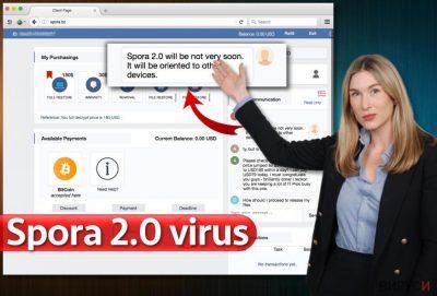 Вирусът Spora 2.0