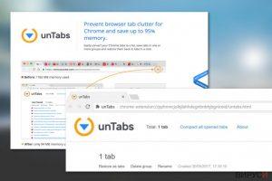 Вирус с файлово разширение unTabs