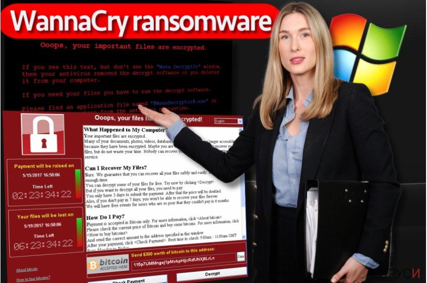 Rансъмуерът WannaCry