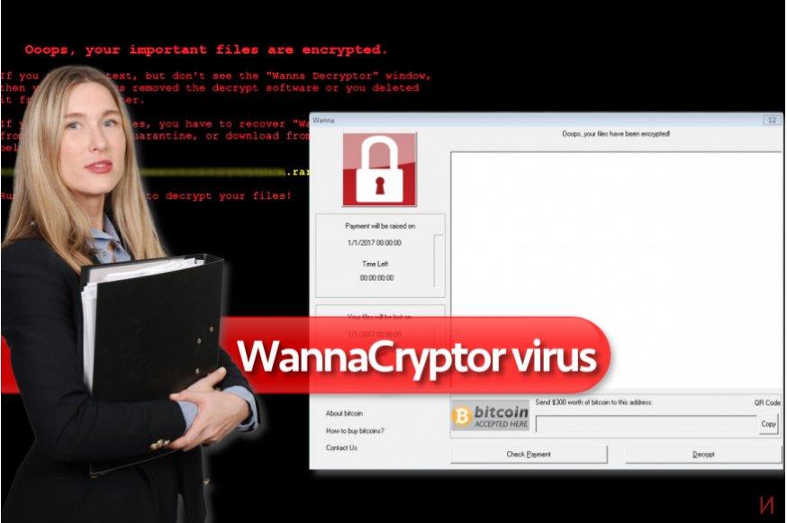 Рансъмуерният вирус WannaCryptor