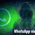 Екранна снимка на Вирусът WhatsApp