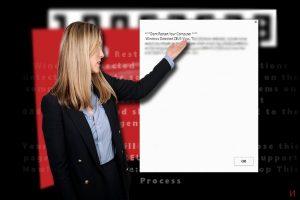 Измамата с техническата поддръжка за Windows Detected ZEUS Virus