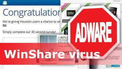 Изображение на вируса WinShare