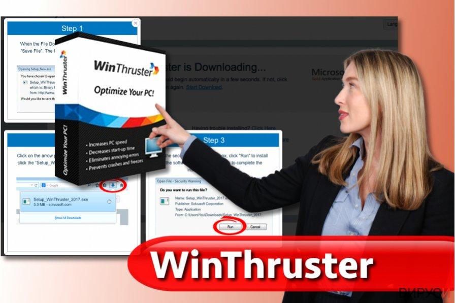 Вирусът WinThruster