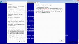 Измамата с техническа поддръжка You Have A ZEUS Virus